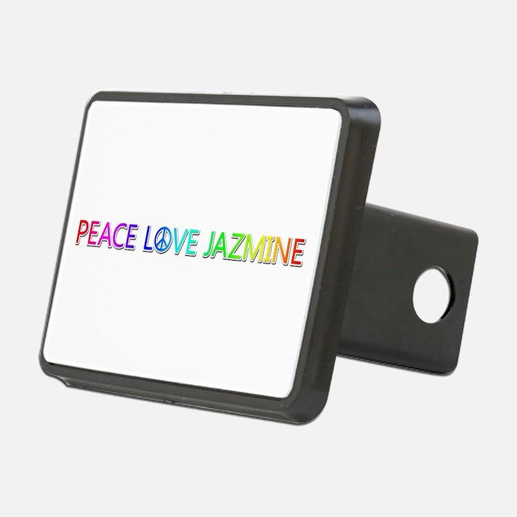 Peace Love Jazmine Hitch Cover