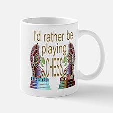I'd Rather Play Chess - Mug