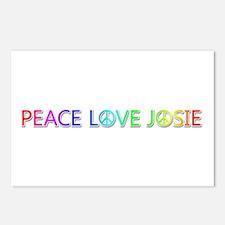 Peace Love Josie Postcards 8 Pack