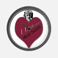 Nellie Oleson Wall Clock