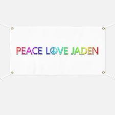 Peace Love Jaden Banner