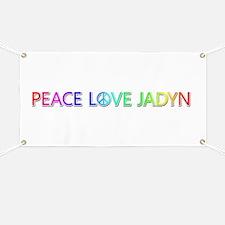 Peace Love Jadyn Banner