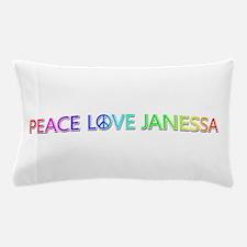 Peace Love Janessa Pillow Case