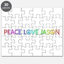 Peace Love Jason Puzzle