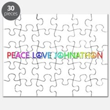 Peace Love Johnathon Puzzle
