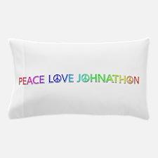Peace Love Johnathon Pillow Case