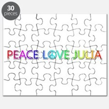 Peace Love Julia Puzzle