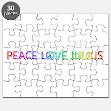 Peace Love Julius Puzzle