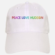 Peace Love Hudson Baseball Baseball Baseball Cap