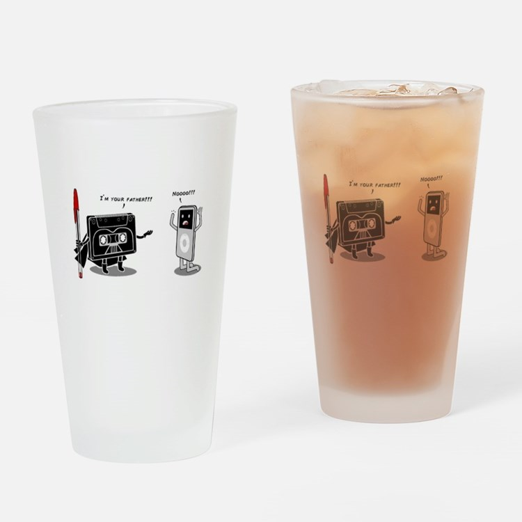 Pod I'm Your Father Drinking Glass