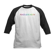 Peace Love Heath Baseball Jersey
