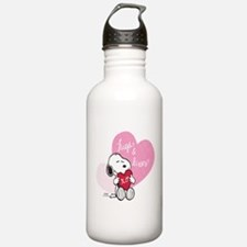 Snoopy - Hugs and Kiss Water Bottle