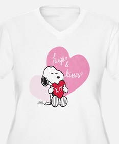 Snoopy - Hugs and T-Shirt