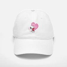 Snoopy - Hugs and Kisses Baseball Baseball Cap