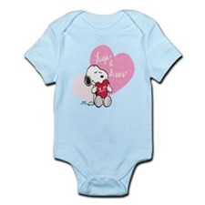 Snoopy - Hugs and Kisses Infant Bodysuit