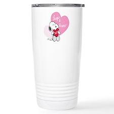 Snoopy - Hugs and Kisse Travel Coffee Mug
