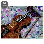 Violin Butterfly Puzzle