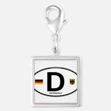 Germany D Deutchland Charms