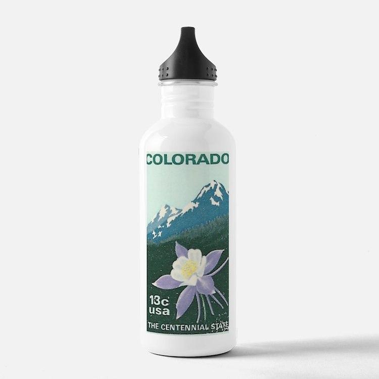 Cute Boulder colorado Water Bottle