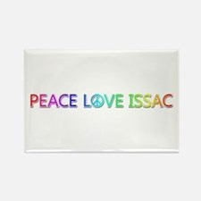 Peace Love Issac Rectangle Magnet