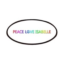 Peace Love Isabelle Patch