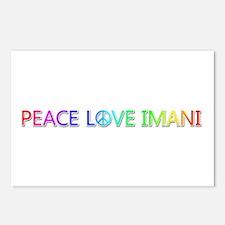 Peace Love Imani Postcards 8 Pack
