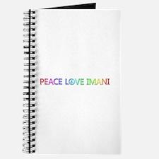 Peace Love Imani Journal