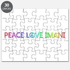 Peace Love Imani Puzzle
