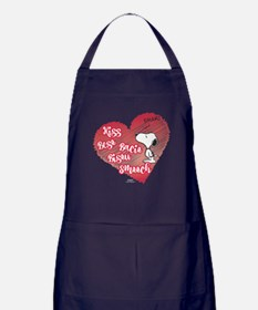 Snoopy - Kisses Apron (dark)