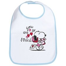 Snoopy - You Are So Loved Bib