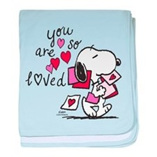 Snoopy - You Are So Loved baby blanket