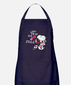 Snoopy - You Are So Loved Apron (dark)