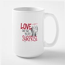 Peanuts - Surprise Love Large Mug