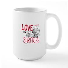 Peanuts - Surprise Love Mug