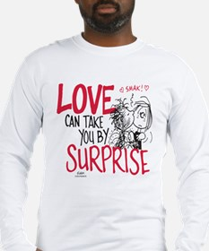 Peanuts - Surprise Love Long Sleeve T-Shirt
