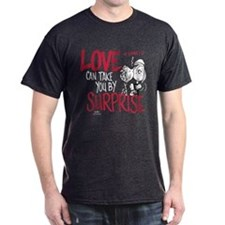 Peanuts - Surprise Love Dark T-Shirt