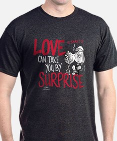 Peanuts - Surprise Love T-Shirt