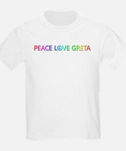Peace Love Greta T-Shirt