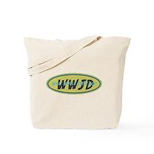 Retro WWJD Tote Bag