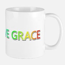 Peace Love Grace Mugs