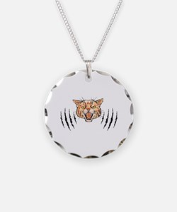 Wildcat Claw Marks Necklace