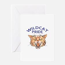 Wildcat Pride Greeting Cards