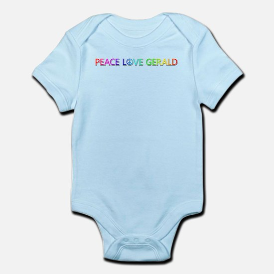 Peace Love Gerald Body Suit
