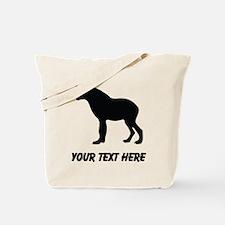 Hyena Silhouette (Custom) Tote Bag