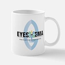 Eyes on Ema Horizontal Mugs