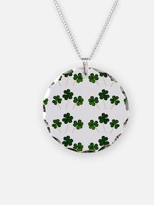 st patricks day shamrocks Necklace