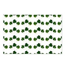 st patricks day shamrocks Postcards (Package of 8)