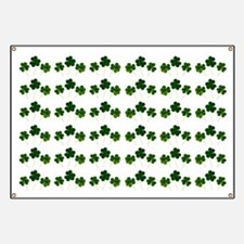 st patricks day shamrocks Banner