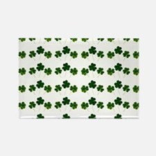st patricks day shamrocks Magnets