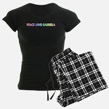Peace Love Gabriela Pajamas